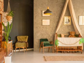 Een natuurlijke kamer stylen voor je baby